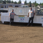 2 ft. High Short Dumpster Rental -16 ft. long