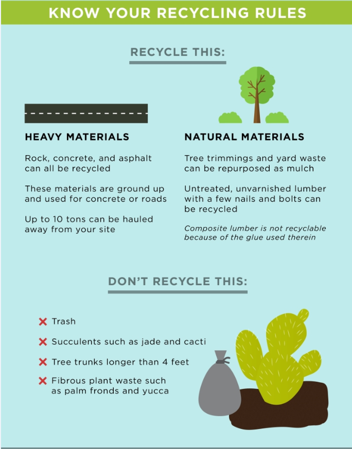 know your recycling rules