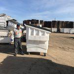 4yd frontloader dumpster rental